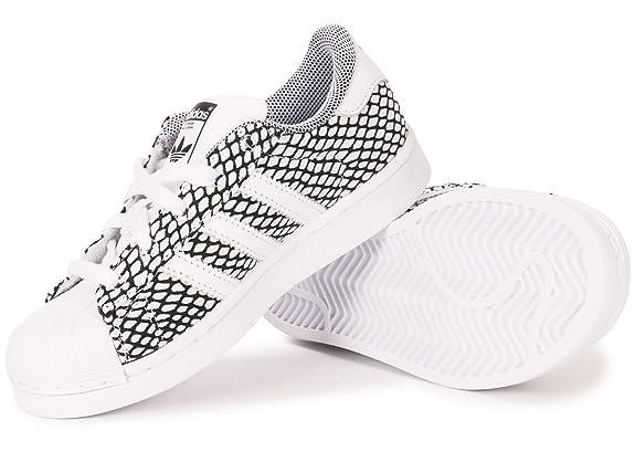 best sneakers 2a15c 90017 Baskets enfant adidas Originals Superstar Snake en noir et blanc  adidas  Originals  Amazon.fr  Chaussures et Sacs