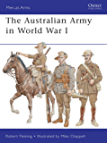 The Australian Army in World War I (Men-at-Arms)