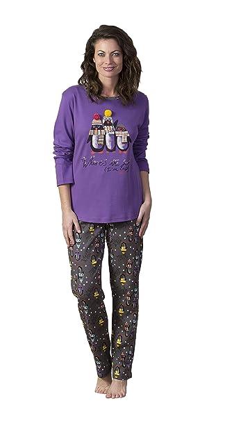 MASSANA Mujer, Pijama De Dos Piezas, UVA Q63, XL