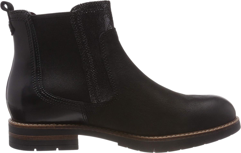 Tamaris Women's 25426-21 Chelsea Boots Black Black Comb 98