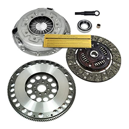 Amazon.com: EXEDY CLUTCH KIT & 12.5 LBS RACE FLYWHEEL fits 90-96 NISSAN 300ZX TURBO VG30DETT: Automotive