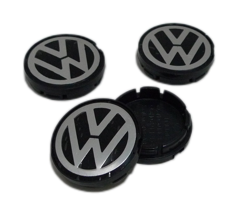 INNO VW Beetle, Bora, Jetta, Golf, Lupo, Passat, Polo, Transporter, Vento Rueda Centro tapacubos Tapas 6 N0601171 6 N0 601 171 (Set de 4 Piezas): Amazon.es: ...