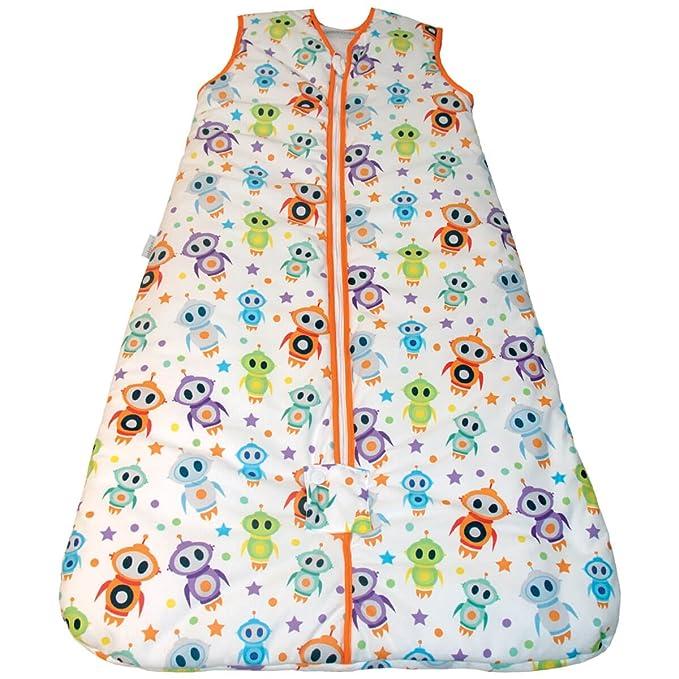 Pekebaby Saco de dormir bebé 0-6 meses ROBOTS 2.5 tog