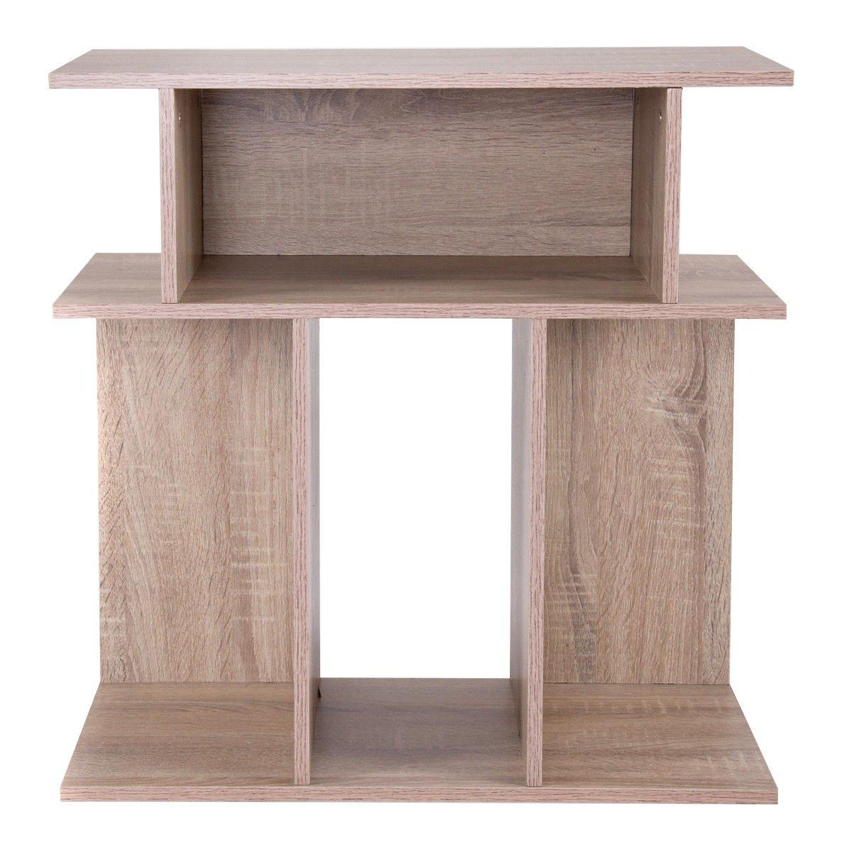GHP Home/Office 23.6'' Lx11.8 Dx24 H Multipurpose Durable Rectangular Modern Side Table
