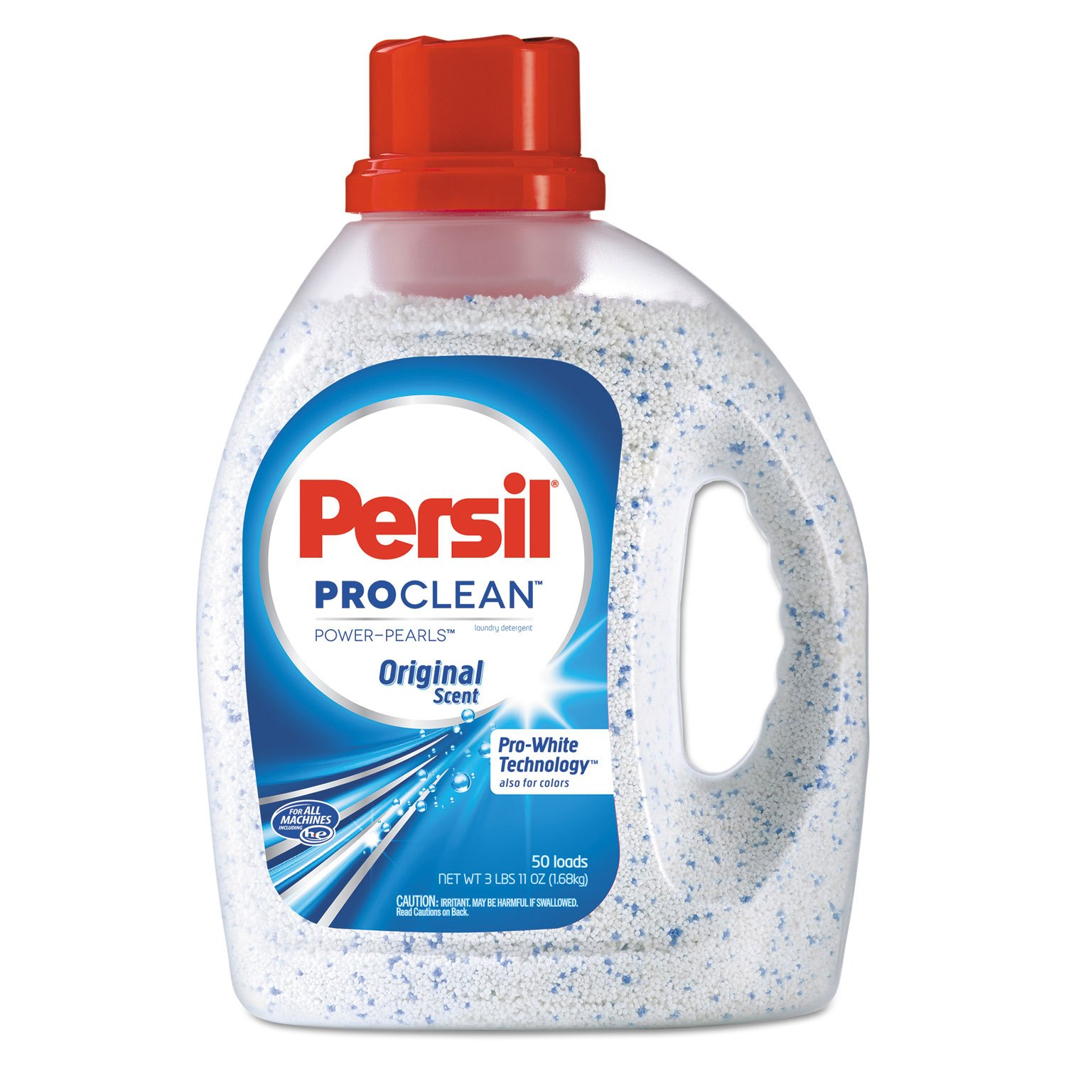 Power-Pearls Laundry Detergent, Original Scent, 59 oz Bottle, 6/Carton, Sold as 1 Carton, 6 Each per Carton by Persil