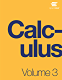 Calculus Volume 3 (English Edition)
