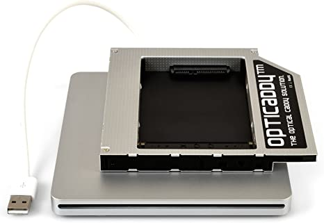 for Apple iMac Early 2008 Late 2007 2nd HDD SSD Hard Drive Caddy Adapter Tray