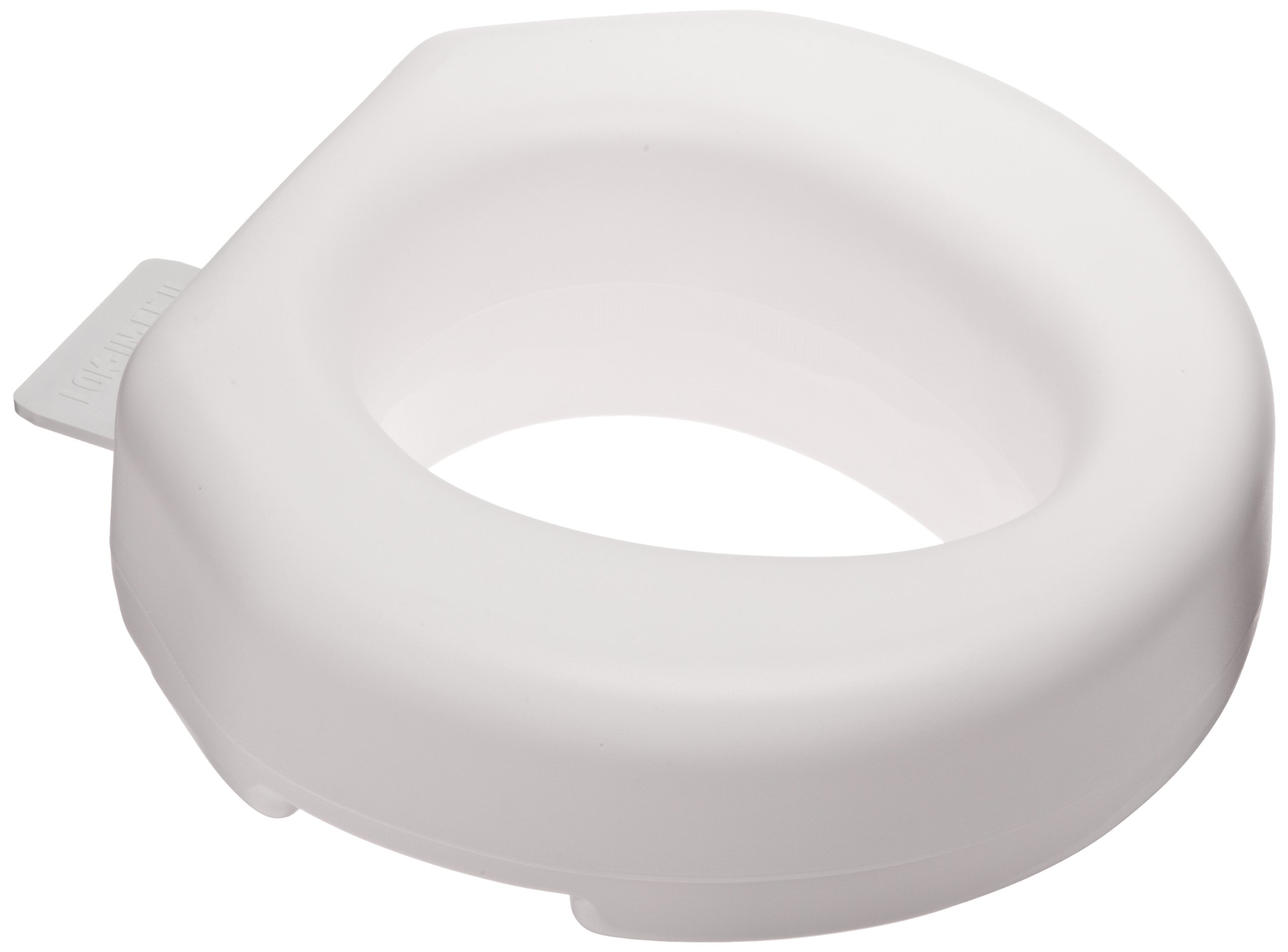 Original Tall-Ette 725812000 Elevated Toilet Seat with Lok-In-El by Maddak Inc.