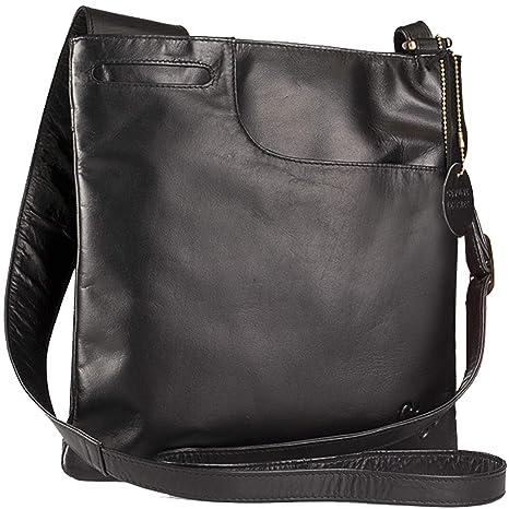 Gigi - Women s Leather Cross Body Handbag - Shoulder Bag with Long  Adjustable Strap - OTHELLO c9f1157c22827