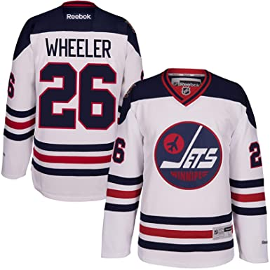 separation shoes 699cb b2e75 Amazon.com: Blake Wheeler Winnipeg Jets Heritage Classic ...