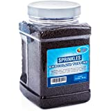 Chocolate Sprinkles Flavored Topping in Resealable Container, 2.2 LB Bulk Candy