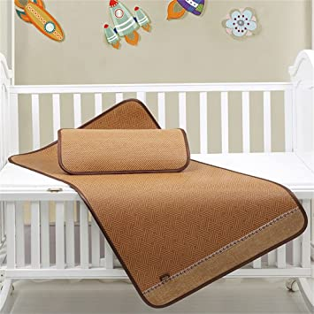 Colchón Fresco Alfombra de ratán Alfombra para Dormir de Verano Niños/guardería Alfombra de bebé