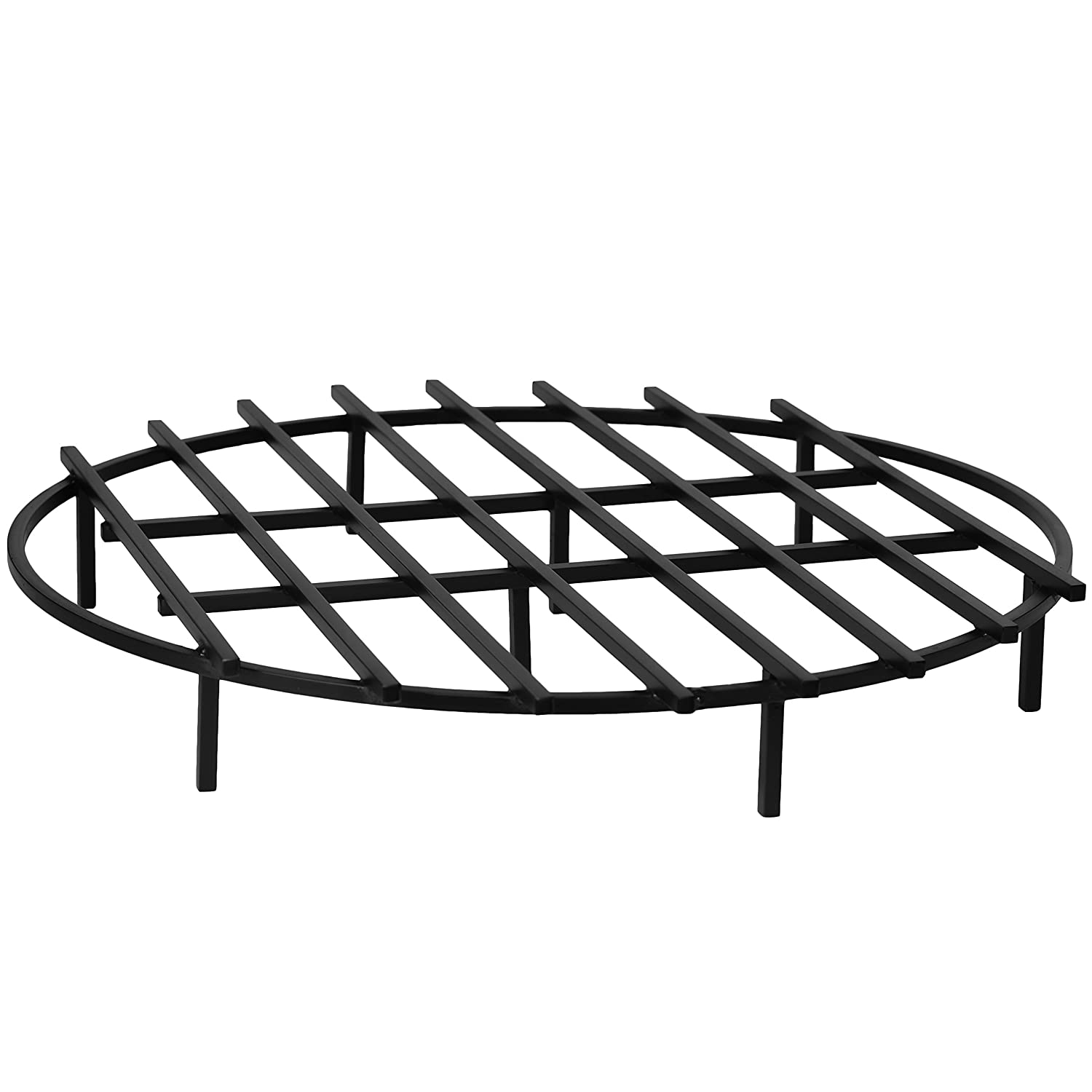 SteelFreak Classic Round Fire Pit Grate, 36 Inch Diameter – Made in The USA