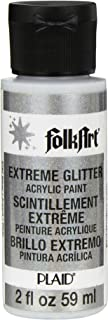 product image for FolkArt Extreme Glitter Acrylic Paint in Assorted Colors (2 oz), 2787, Silver