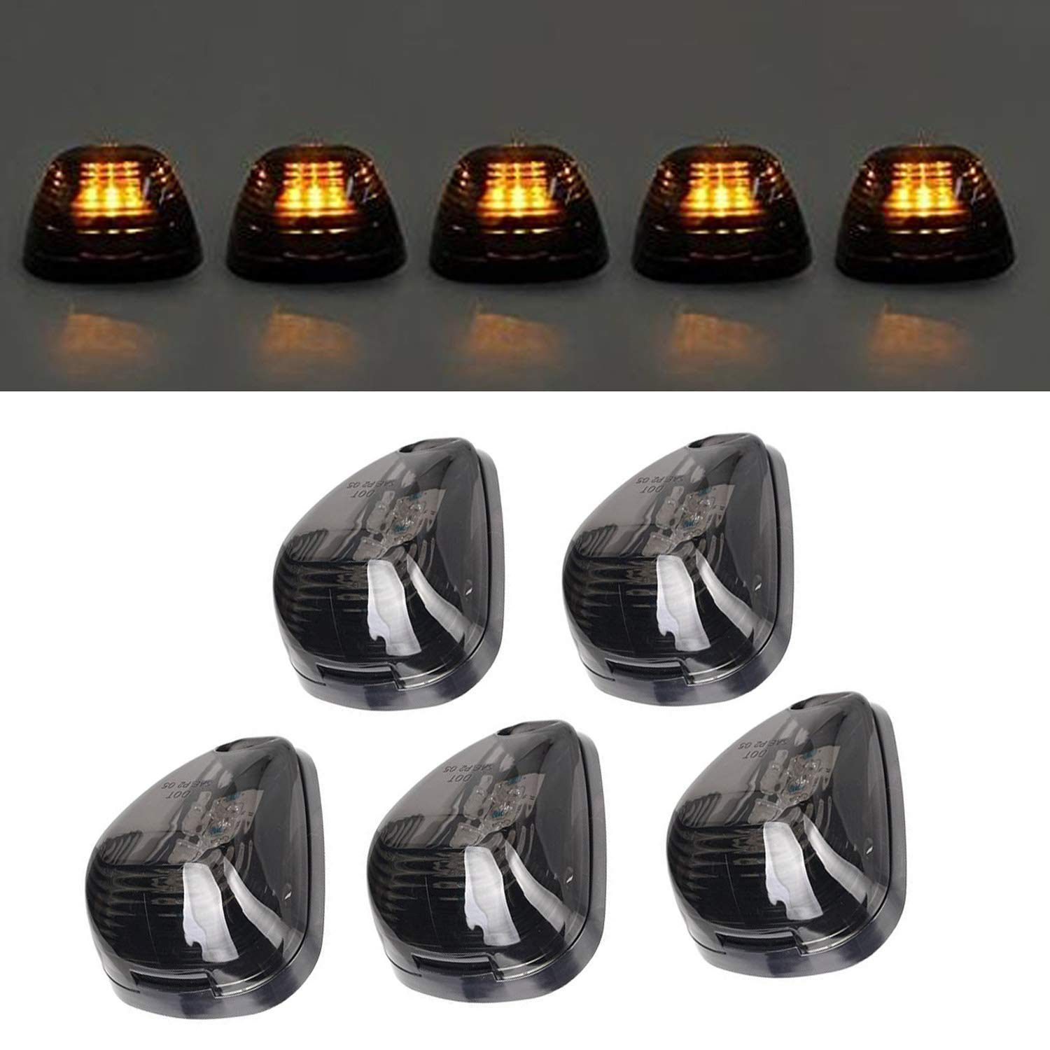 Grand General 79832 Oval Side LED Marker//Turn//Clearance Light with Reflector