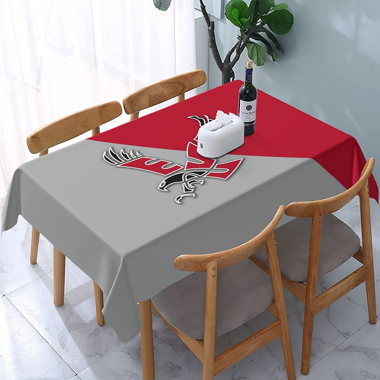 Eastern Washington University Rectangle Tablecloth 54