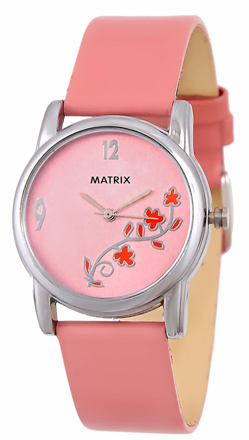 Buy MATRIX Analog Pink Dial Women\'s Watch-WCH-PK-FLW Online at Low ...