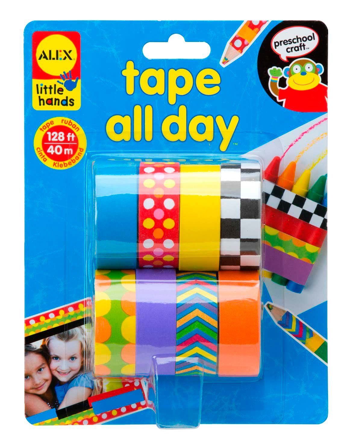 "Alex - Set per creazioni con il nastro adesivo ""Tape All Day"", 40 m Alex Toys 1520"