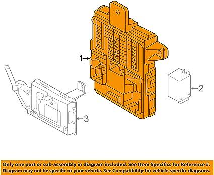 Hyundai 919504Z590 - Caja de fusibles y relés eléctricos para Santa Fe (17 a 18): Amazon.es: Coche y moto