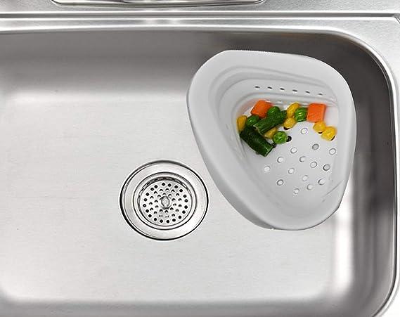 Amazon.com: HOME-X - Colador de silicona para fregadero de ...
