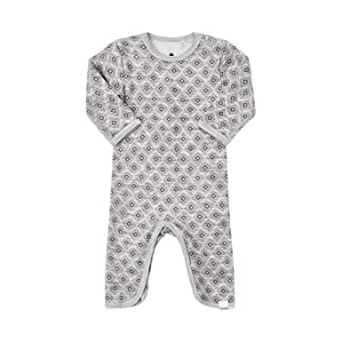 1dccd0cf23d8 Amazon.com  CeLaVi Merino Wool Bamboo Baby-Toddler Unisex Romper ...