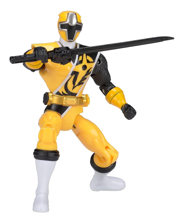 Power Rangers Super Ninja Steel Hero Action Figure, Yellow Ranger