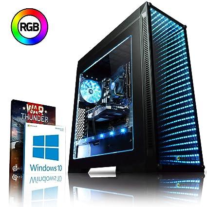 Vibox Apache 9XS Gaming PC Ordenador de sobremesa con 2 Juegos Gratis, Windows 10 OS (3,4GHz AMD Ryzen Quad-Core Procesador, Nvidia GeForce GTX 1050 ...
