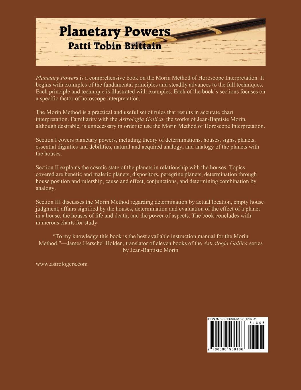 Planetary Powers: The Morin Method: Amazon in: Patti Tobin