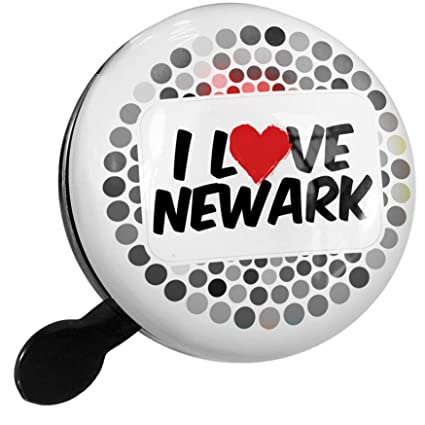 Amazon.com : NEONBLOND Bike Bell I Love Newark Scooter or ...