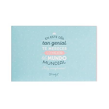 Mr Wonderful álbum Con Mensaje En Este Día Tan Genial Te Mereces Lo Mejor Del Mundo Mundial