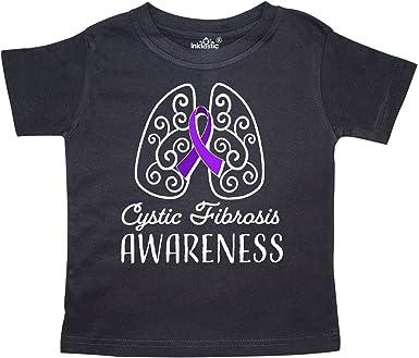 inktastic I Wear Purple for My Tia Cystic Fibrosis Awareness Baby T-Shirt