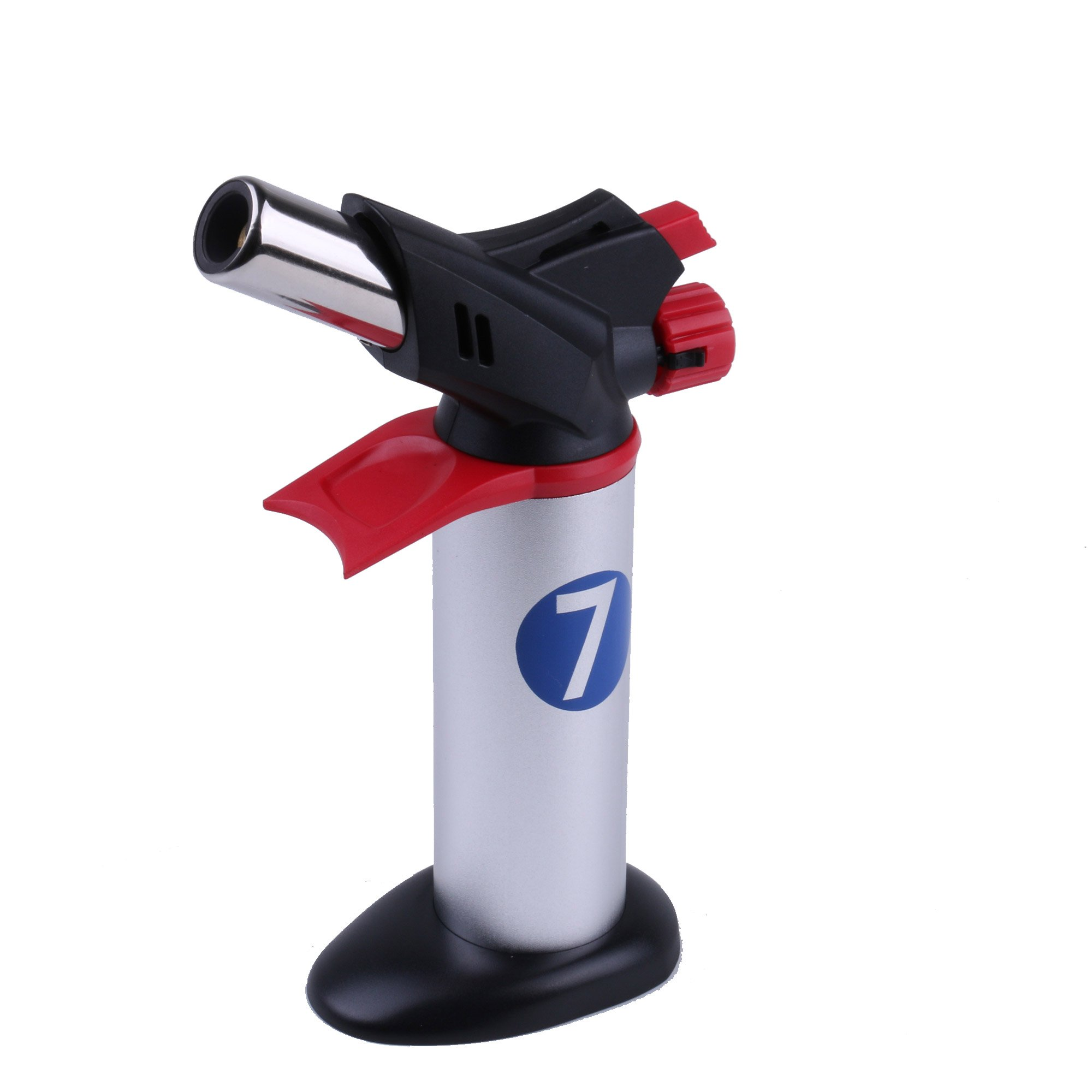 Professional Cooking Torch - Butane Culinary Torch for Creme Brulee and Searing - Adjustable Flame Food Torch - Blow Torch