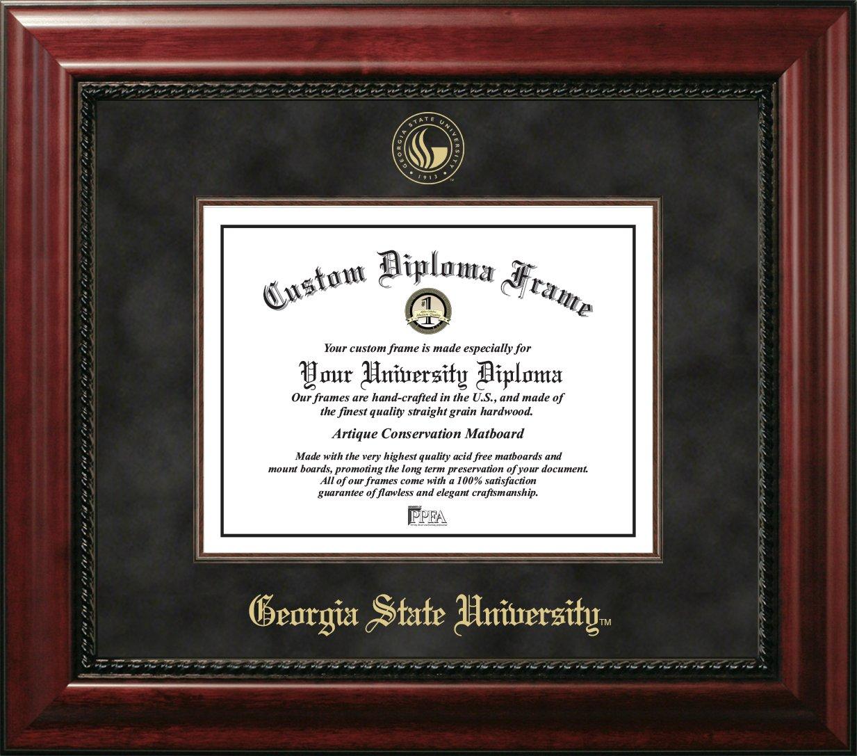 Amazon.de: CAMPUS Bilder Georgia State Executive Diplom Rahmen, 38 ...