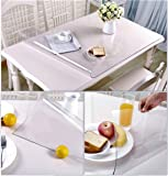 2 Set 12 X 36 Inch Clear Table Protector Square