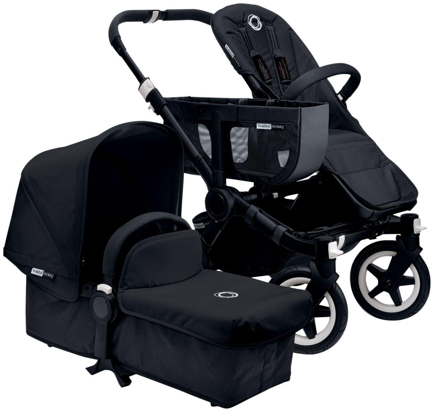 Amazon.com : Bugaboo Donkey Stroller Base - Black/Black : Baby