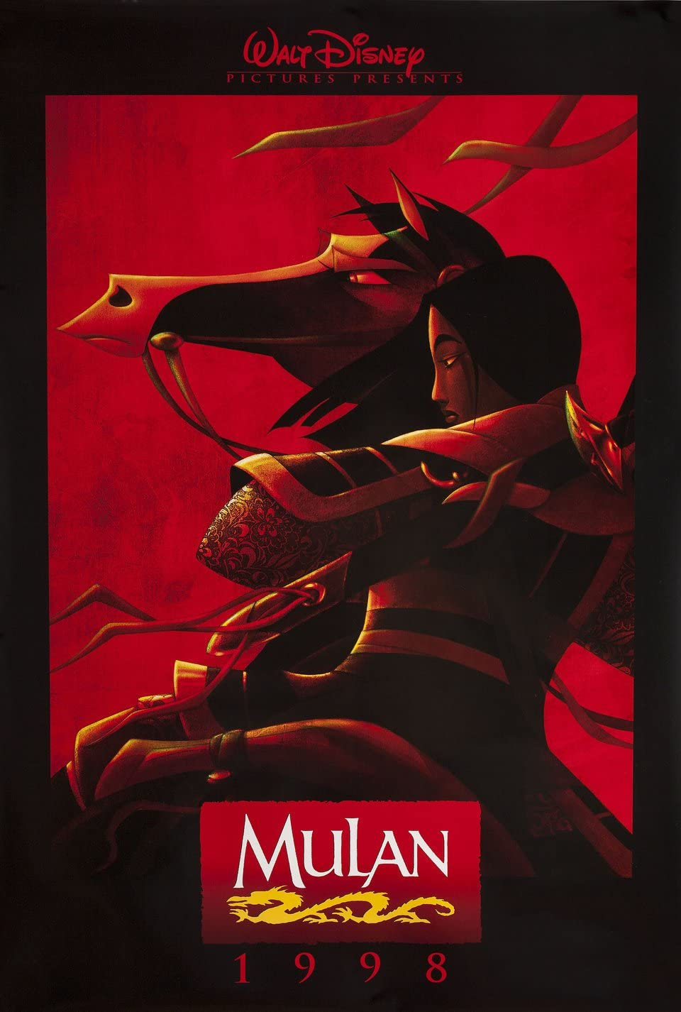 Mulan 1998 U.S. One Sheet Poster at Amazon's Entertainment ...