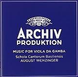 Music For Viola Da Gamba [4