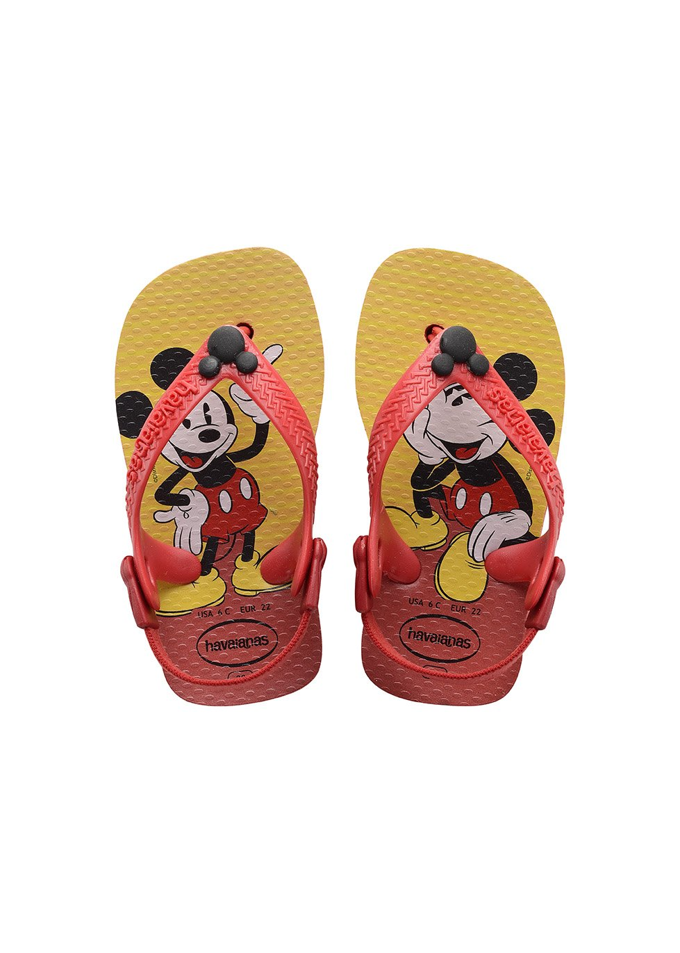 Havaianas Gemusterte Zehentrenner Baby Disney Classics 4126841