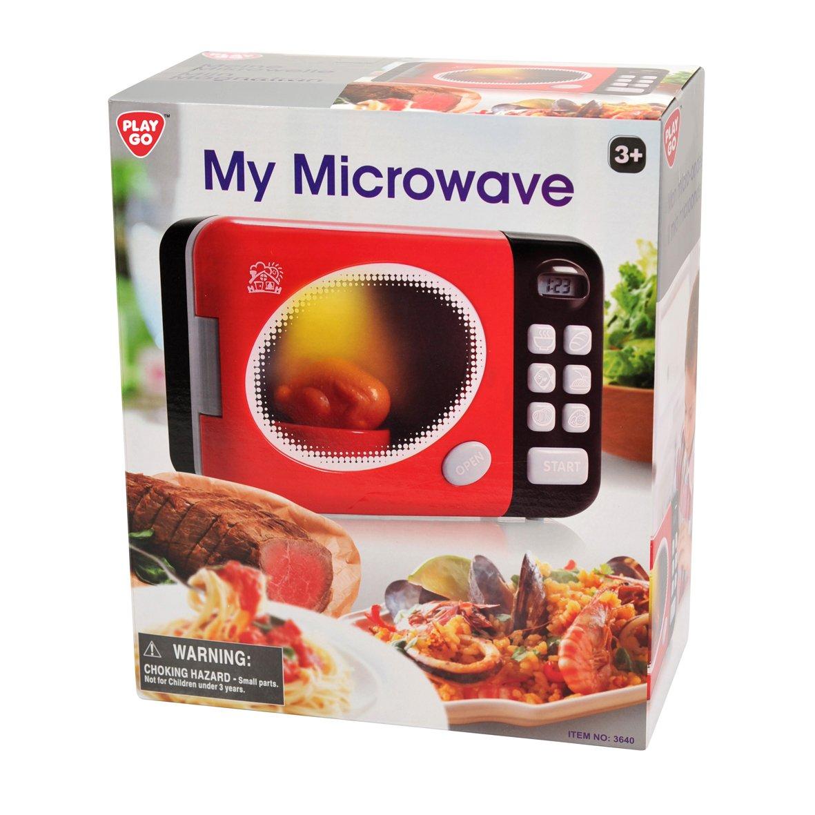 Playgo Meine Mikrowelle - Kinder Mikrowelle