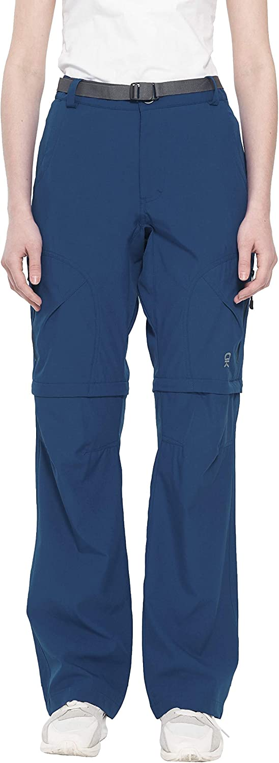 Little Donkey Andy Women's Stretch Convertible Pants Zip-Off Quick Dry Hiking Pants
