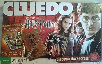 Hasbro - Juego de Mesa Cluedo, edición Harry Potter (Importado de ...