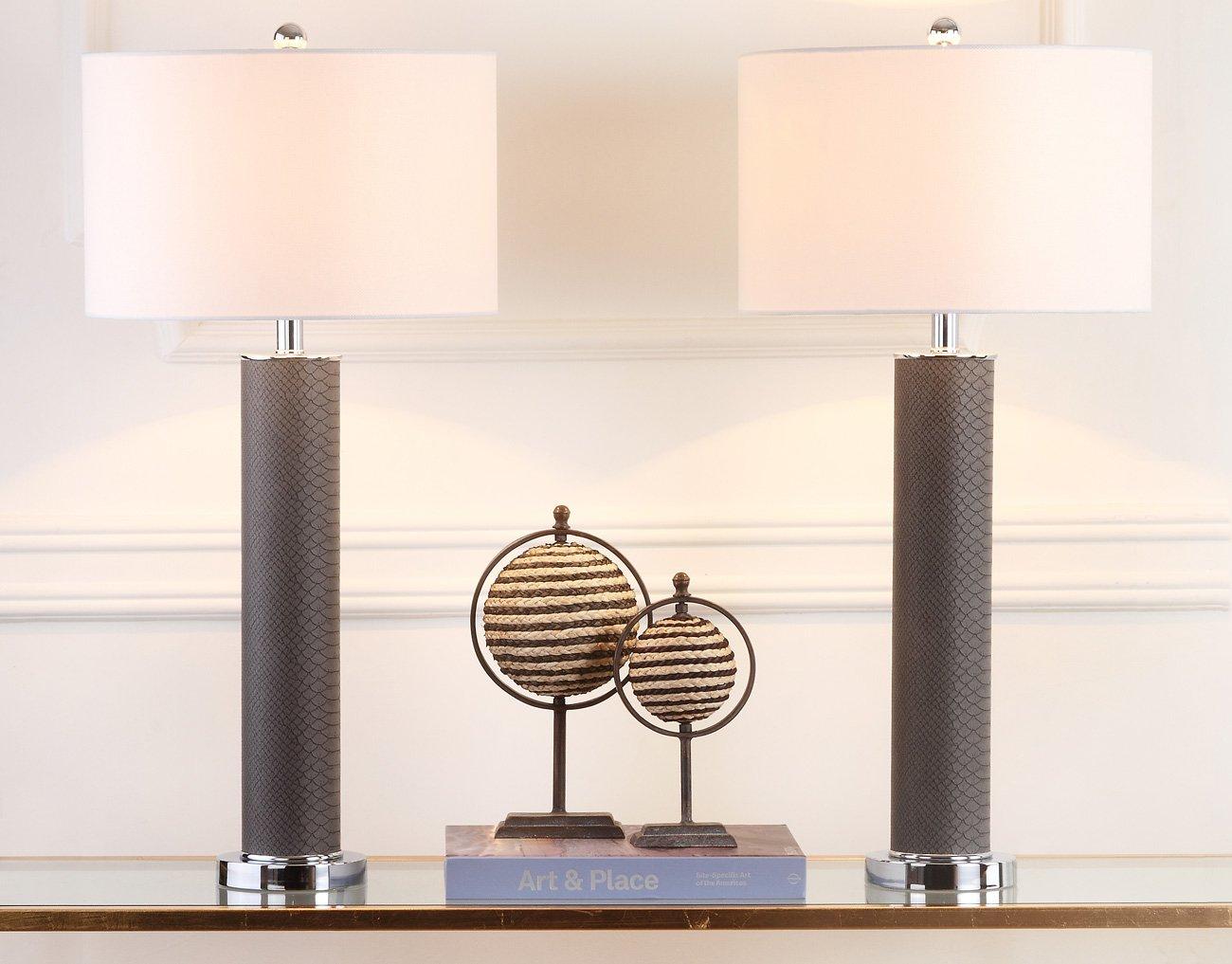 Amazon.com: Safavieh Lighting Collection Ollie Gris ...