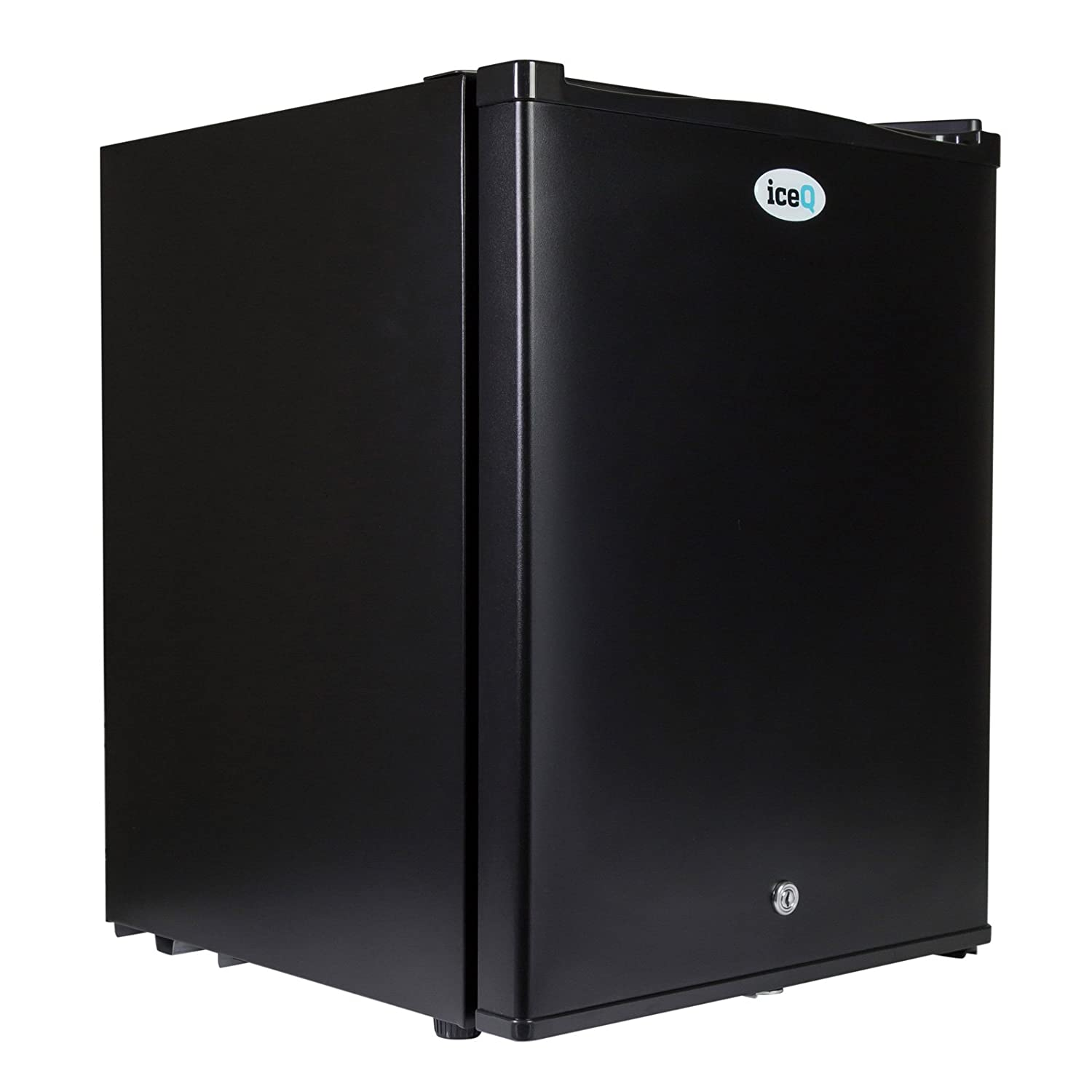 iceQ 35 Litre Deluxe Solid Door Black Mini Bar Fridge For Hotels, Bedrooms … Bedrooms ...