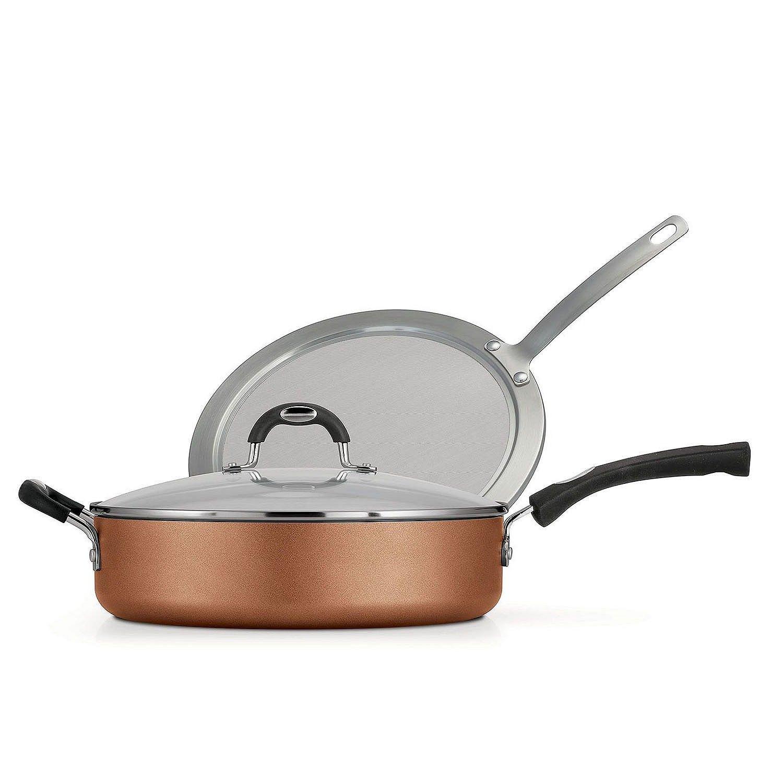 Tramontina 3-Piece Deep Saute Pan Set (Copper) - 80143/588