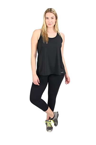1c8cdbad3 Lola Getts Women s Plus Size Performance Relaxed Fit Tank Top (1 18 ...