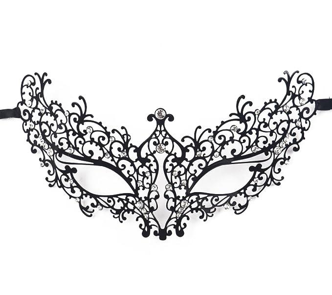 Jinfengkai Venetian Masquerade Masks (Women) – Match Ball Gowns, Halloween Costumes, Victorian