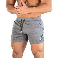 Superora Shorts Deportivos Hombre Pantalones Cortos Short de Ejercicio Deporte Secado Rápido de Malla con Cordón para…