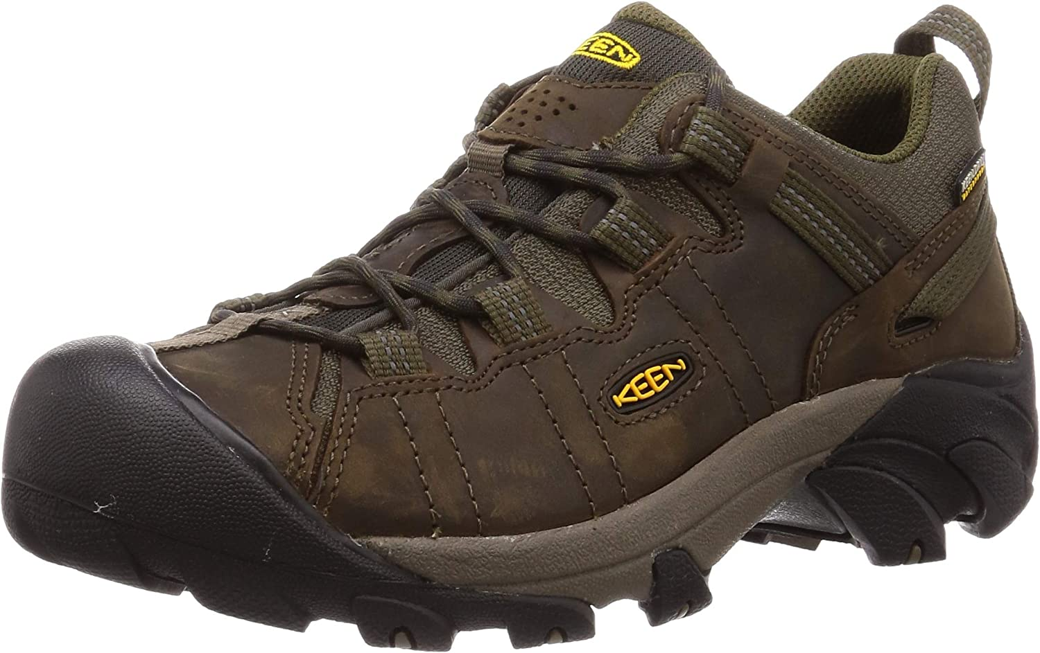 KEEN Men s Targhee 2 Low Height Waterproof Hiking Shoe