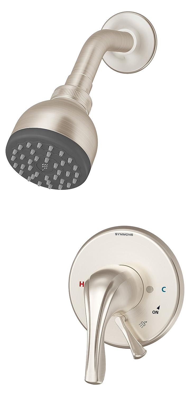 Symmons S-9602-PLR-TRM-STN Origins 1-Handle Tub & Shower Faucet Trim ...