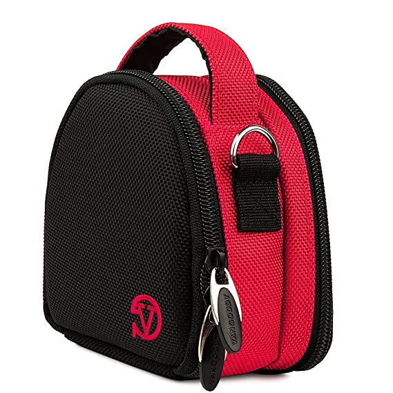 Vangoddy Cool Point   And   Shoot Camera Carrying Case For Nikon Coolpix L32 S7000 A10 W100 A300 A900 S33 Aw130 S3700 L31 S9900 S9700 Aw1  PT_CAMLEA04